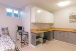bsmt-kitchen at 4737 Cedarglen Place, Greentree Village, Burnaby South