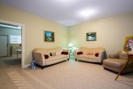 Bsmt living room at 3756 Winsford Court, Government Road, Burnaby North