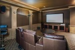 Bsmt media room at 3756 Winsford Court, Government Road, Burnaby North