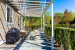 Covered patio at 3756 Winsford Court, Government Road, Burnaby North