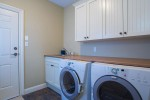 Laundry room at 3756 Winsford Court, Government Road, Burnaby North