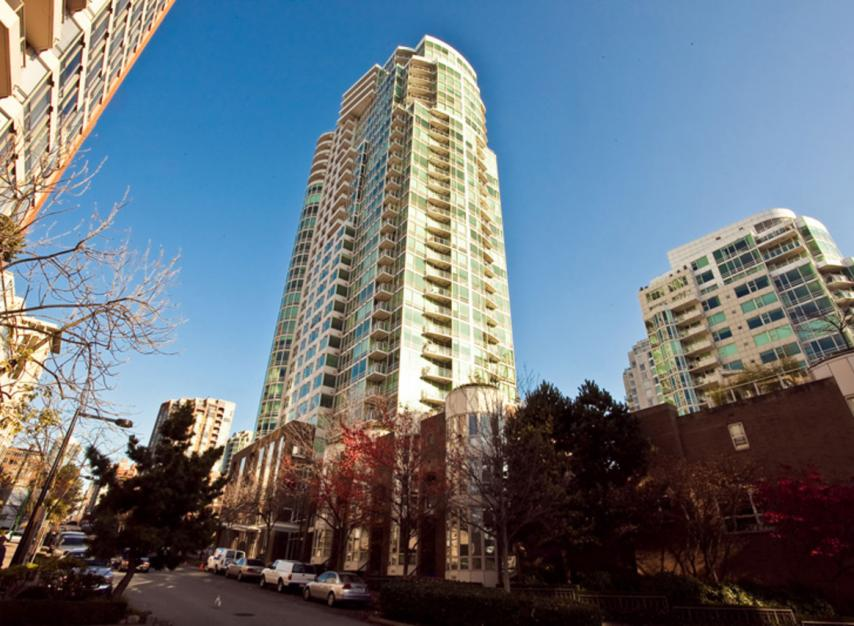 #1106 - 1500 Hornby Street, Yaletown, Vancouver West