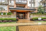 building-entrance at #407 - 1150 Kensal Place, New Horizons, Coquitlam
