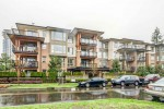 building-exterior at #407 - 1150 Kensal Place, New Horizons, Coquitlam