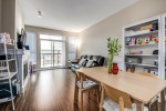 living--dining-area-2 at #407 - 1150 Kensal Place, New Horizons, Coquitlam